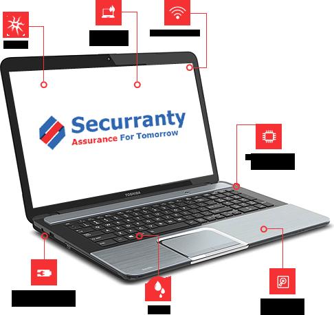 Enterprise Laptop Extended Warranty |Securranty