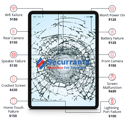 iPad Extended Warranty -  Accidental Damage Insurance  |Securranty