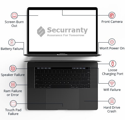 Apple MacBook Insurance - MacBook Pro warranty |Securranty
