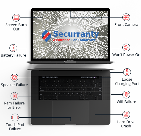 Apple MacBook - Protection Plans - 3 year warranty laptop  |Securranty
